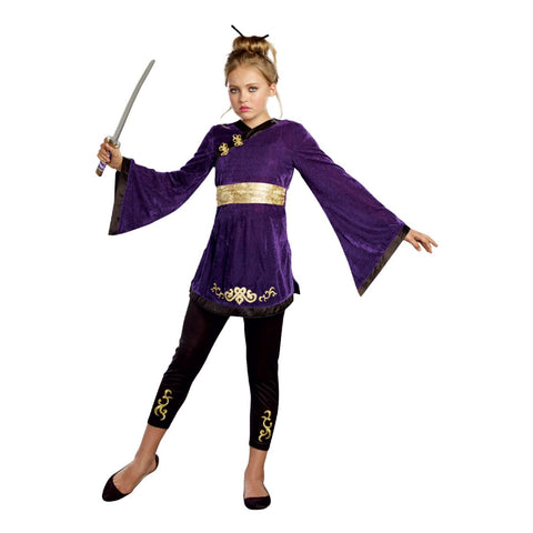 Lotus Warrior Tween Girl Costume