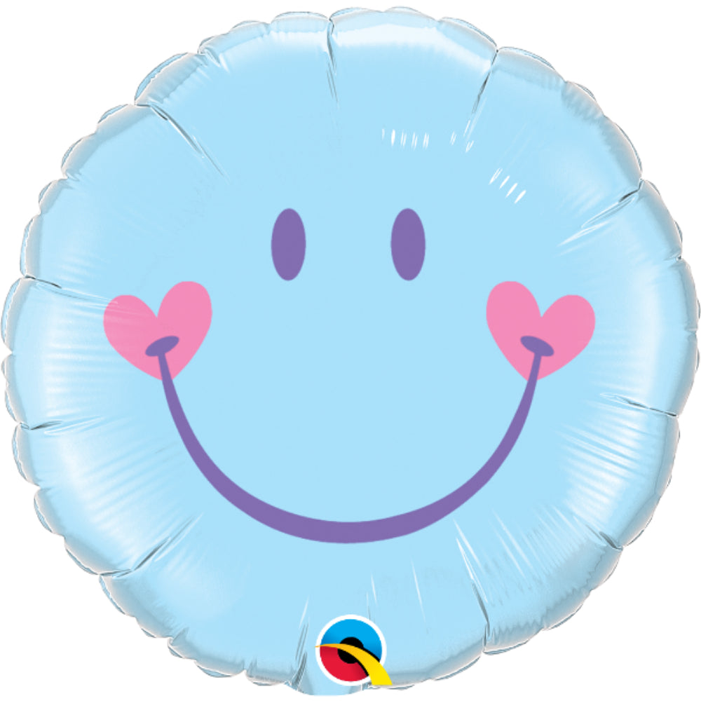 Sweet Smile Face Foil Balloon