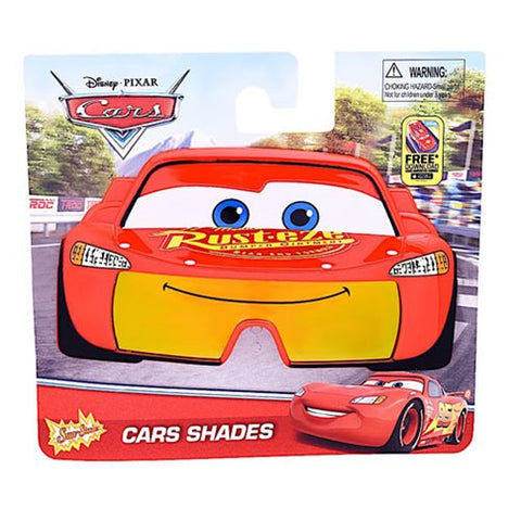 Officially Licensed Cars Lightning McQueen SunStaches