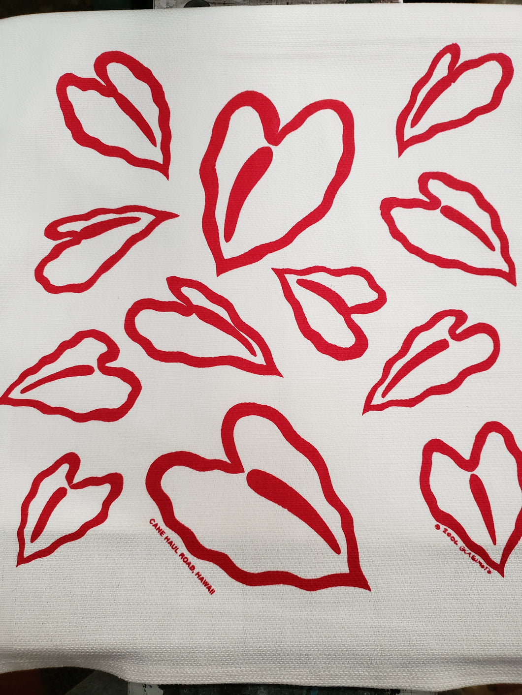 Anthurium Dishtowel