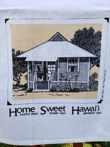 """Home Sweet Hawaii"" Dishtowel"
