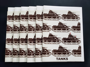 """Tanks"" Greeting Cards"