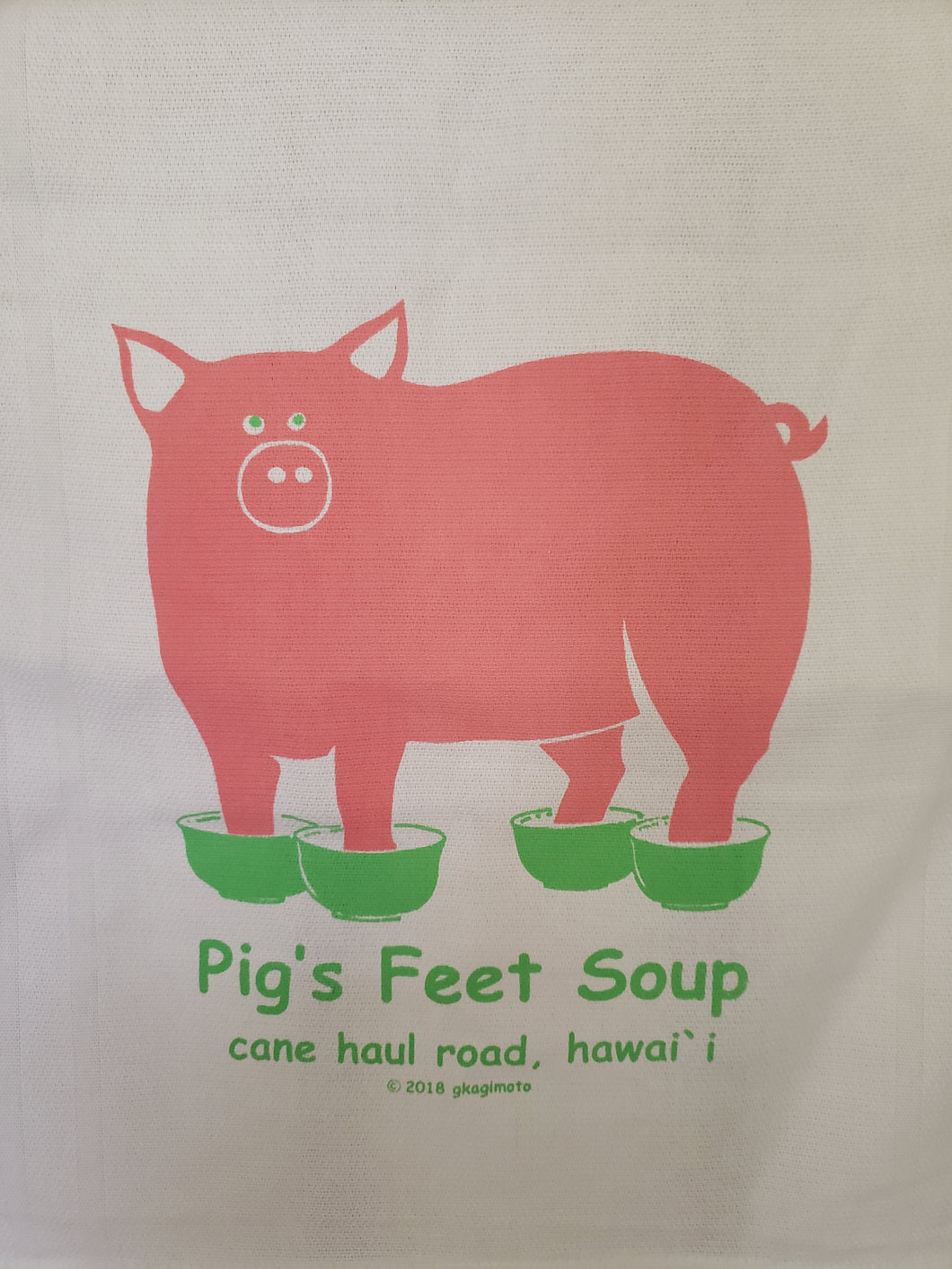 Pig's Feet Soup Dishtowel