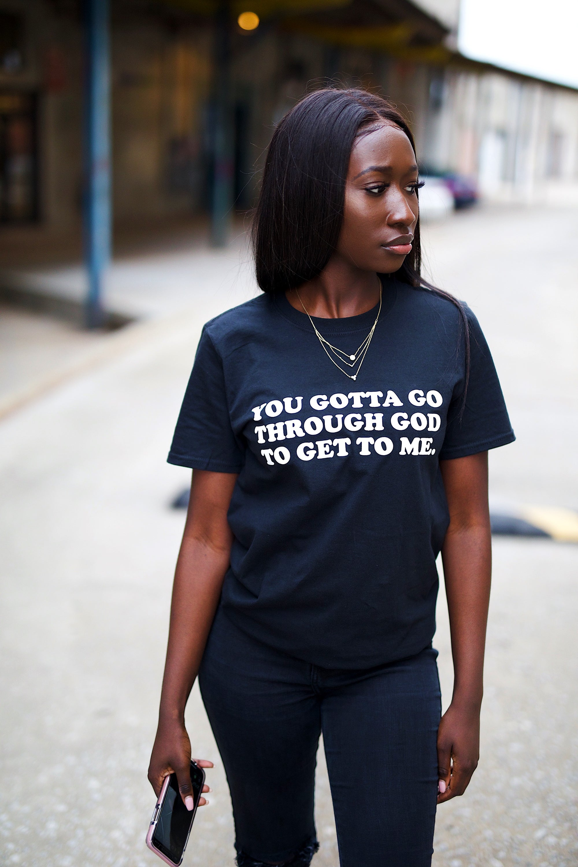 GO THROUGH GOD TEE