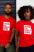 I'M GOOD LUV TEE (RED/WHITE)