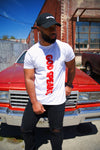 GOD SPEAKS TEE (WHITE/RED)