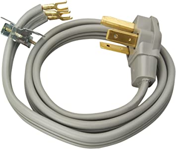 Dryer Power Cord - 30 AMP - 3 Wire - 6' - Highway 61 Appliance Parts