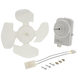 W10124096 Refrigerator Condenser Fan Motor Kit - Highway 61 Appliance Parts