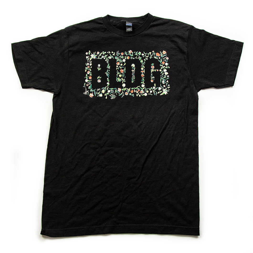 Arrangement Black T-Shirt