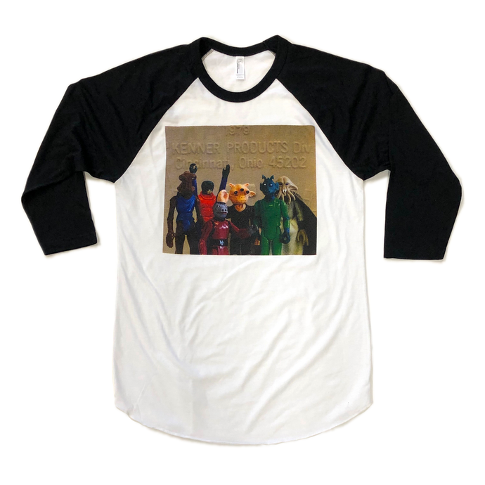 Kenner Aliens Raglan Shirt