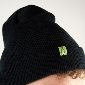 Single Roll Black Beanie