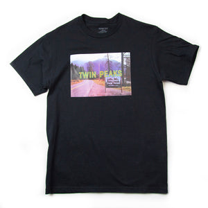 Twin Peaks X Habitat Skateboards Opening Title T-Shirt