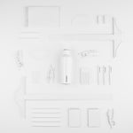 CORKCICLE Dipped Canteen 475 ml - Modernist White