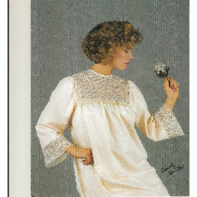 Lady's French Sewn Nightgown by Sandy Hunter