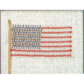American Flag Smocking Design Plate by Sandy Hunter