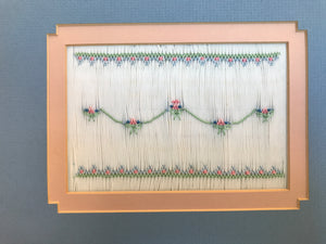"""Ansley"" Smocking Design Plate by Sandy Hunter"