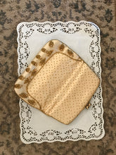 Load image into Gallery viewer, Purse - Vintage, Beaded Satin Cream Purse