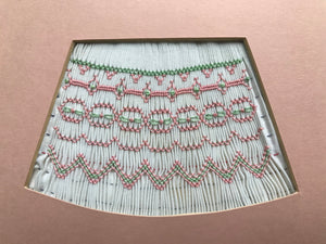 """Mary Elizabeth"" Smocking Design Plate by Sandy Hunter"
