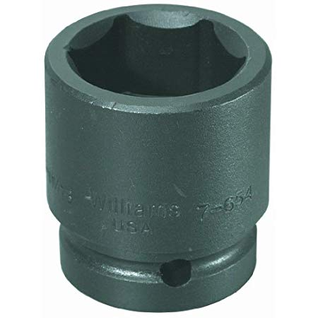 Williams 7-658 1 Drive Impact Socket, 6 Point, 1-13/16-Inch
