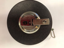 "Load image into Gallery viewer, Vintage Lufkin 50 Ft x 5/8"" Tape Measure Hi-Line Non Metallic 403"