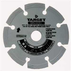 TARGET SD5 Dri Disc Blade-Hand Tool Small Diameter: Blade Size 5 x .80 x 7/8-20mm-5/8 B inches.