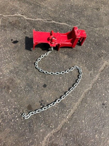 Jewel No. 6A Aluminum Pipe Welding Clamp - Used