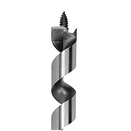 IRWIN Tools 1826645 Pole Auger Drill Bit with WeldTec, 7/16-inch Shank, 13/16-inch by 29-inch, Single