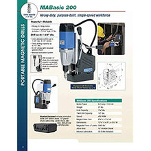 Load image into Gallery viewer, CS Unitec MABasic 200 Portable Magnetic Drill Press