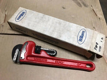 "Load image into Gallery viewer, Williams 8"" Pipe Wrench - New Old Stock"