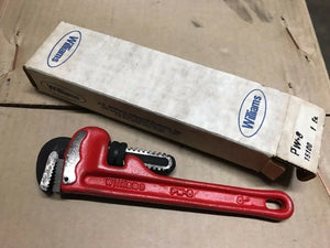 "Williams 8"" Pipe Wrench - New Old Stock"
