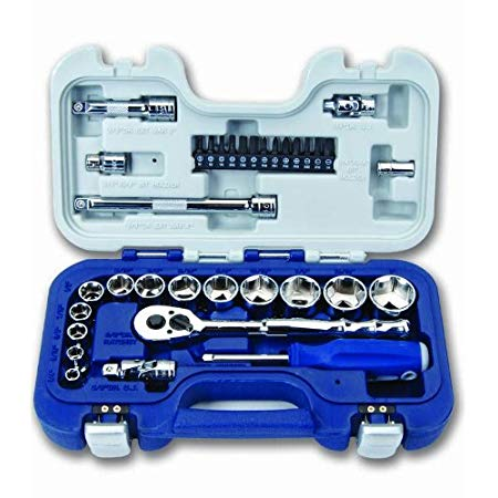 Williams 50603 3/8-Inch Drive Basic Tool Set, 34-Piece