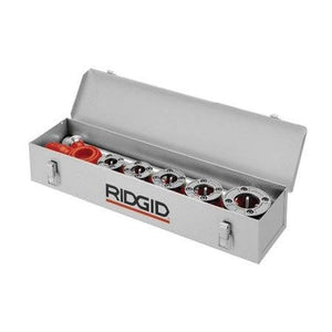 Ridgid 97375 Metal Case Only (Holds 9 Die Heads - die heads not included))
