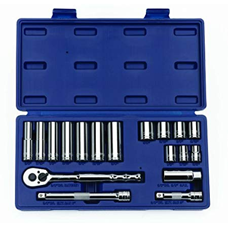 Williams 50664 3/8-Inch Drive Socket and Drive Tool Set, 18-Piece