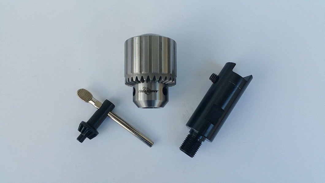 HOUGEN DRILL CHUCK&ADAPTER FOR MODELS,HMD904, 905 & 927 (SLOTDRIVE)#08186/#10731