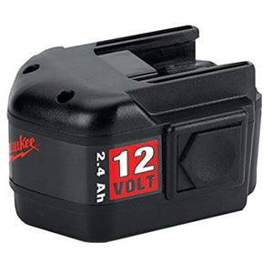 Milwaukee 48-11-1970 12-Volt 2.4 Amp Hour NiCad Slide Style Battery