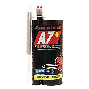 Anchoring Adhesive, Cartridge, 28 oz. Size
