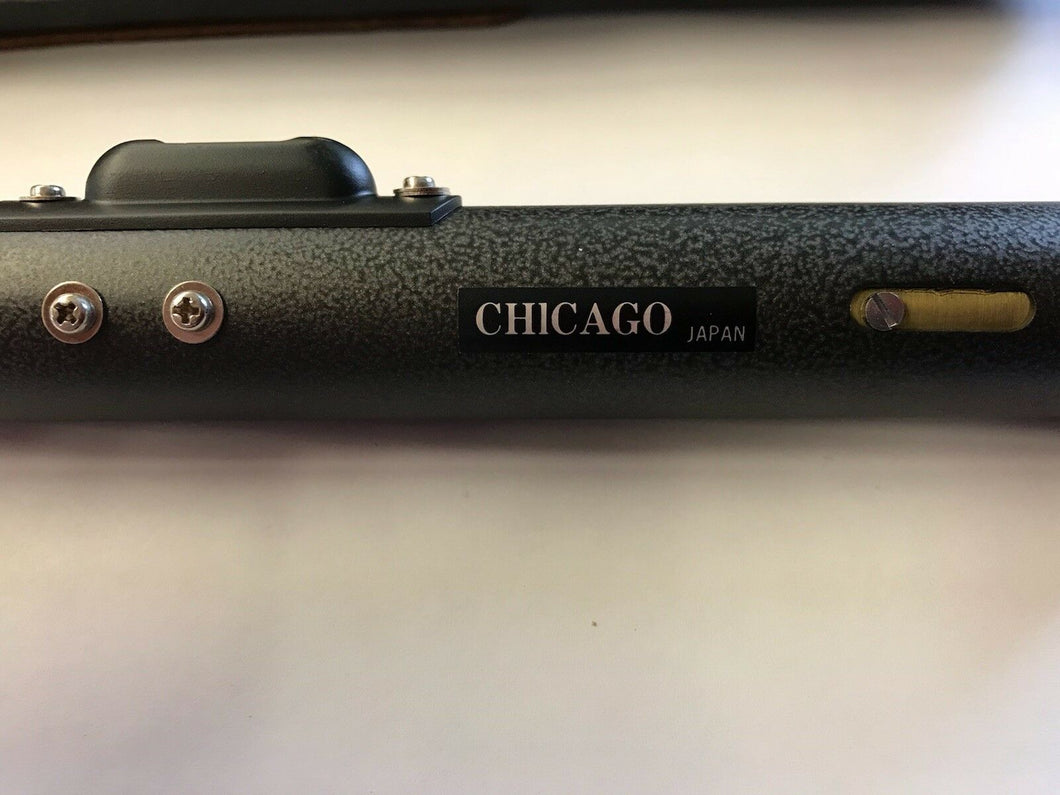 Chicago 2.5x Sight Level with Leather Case NOS