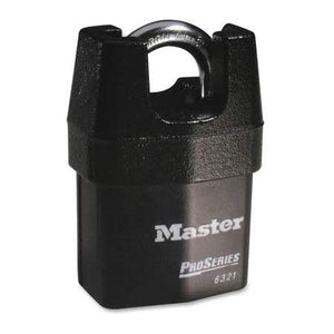 Master Lock 6321 Boron Shackle Pro Series Padlock - Keyed Alike