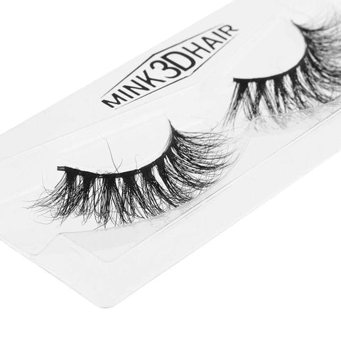 Real Siberian 3D Mink Full Strip False Eyelash