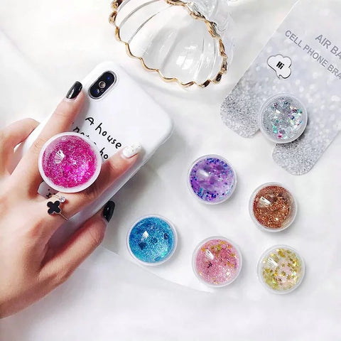 Liquid Glitter Phone Grip
