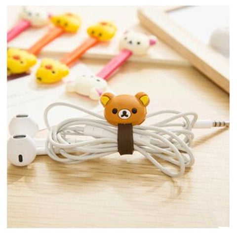 Cute cable holder