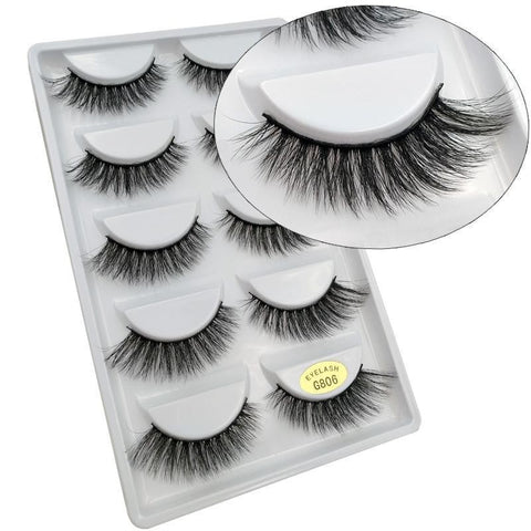 Fluffy False Eyelashes