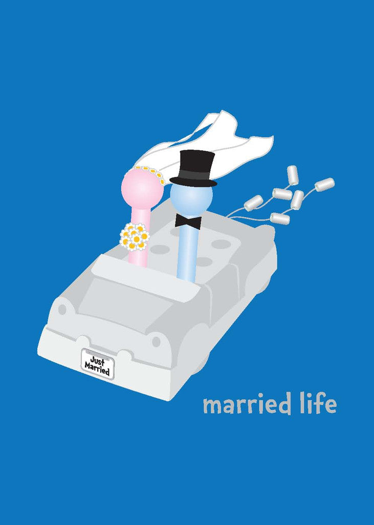 Wedding Card - Married Life Greeting Card