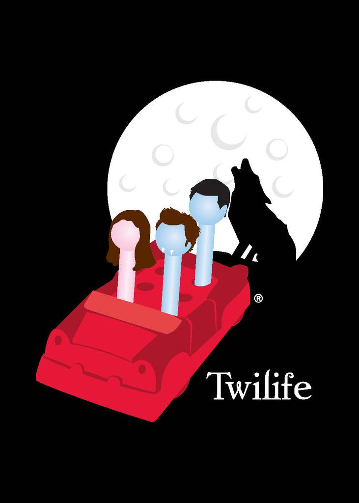 Twilight Movie Greeting Card - Twilife