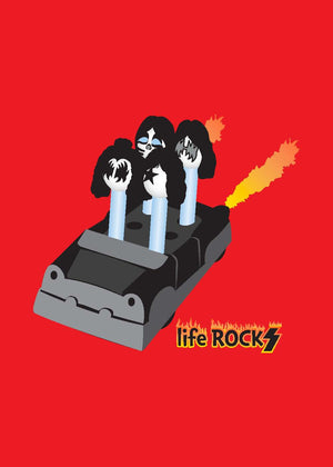 Kiss - Greeting Card - Life Rocks