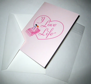 I Love Lucy Greeting Card - I Love Life