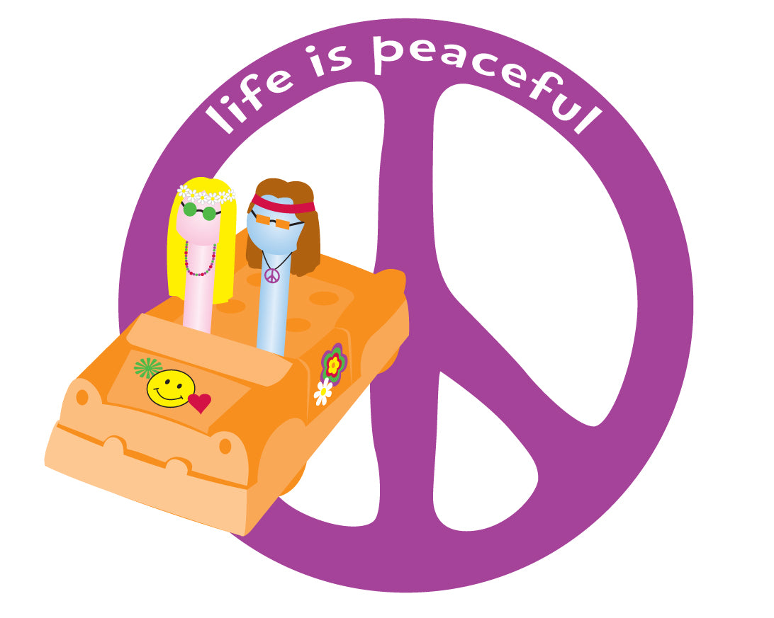 Life is Peaceful Magnet