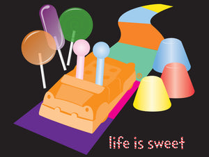 Life is Sweet Magnet