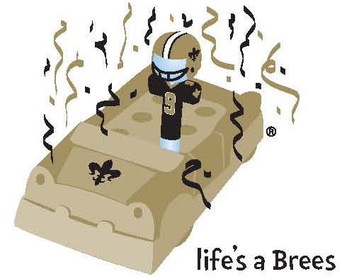 Life's a Brees Magnet