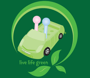 Live Life Green Magnet